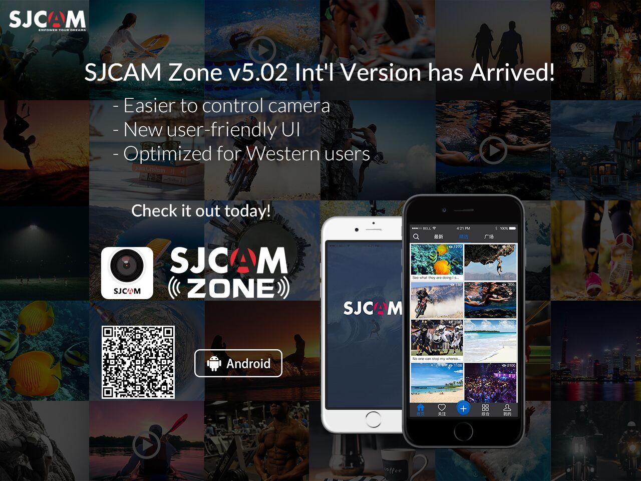 SJCAM Zone v5 02 International Version App for Android