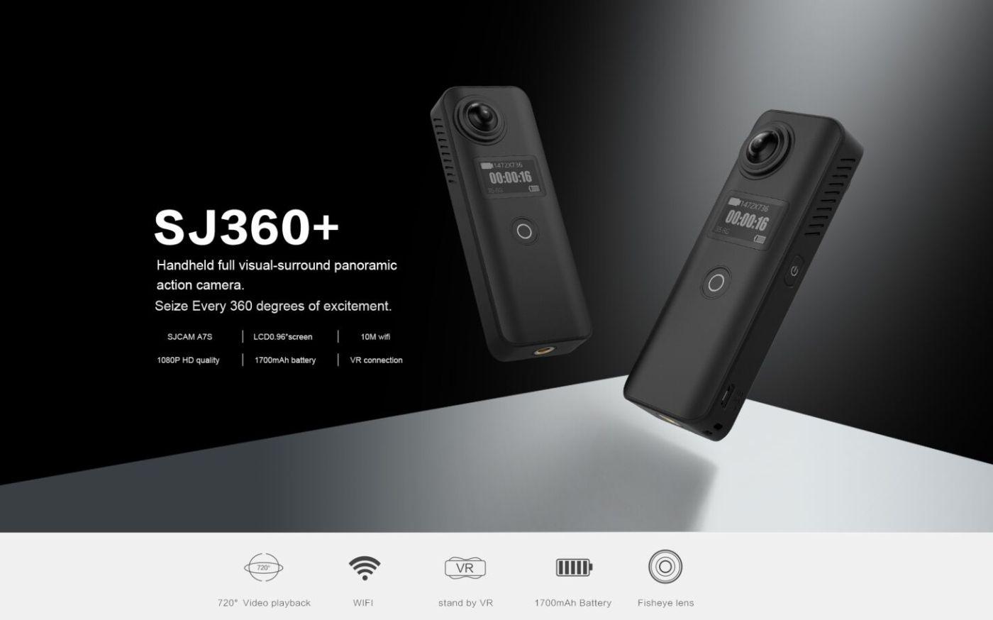 SJ360 Plus Camera photos – SJ360+ Plus Panoramic Cam Reviews