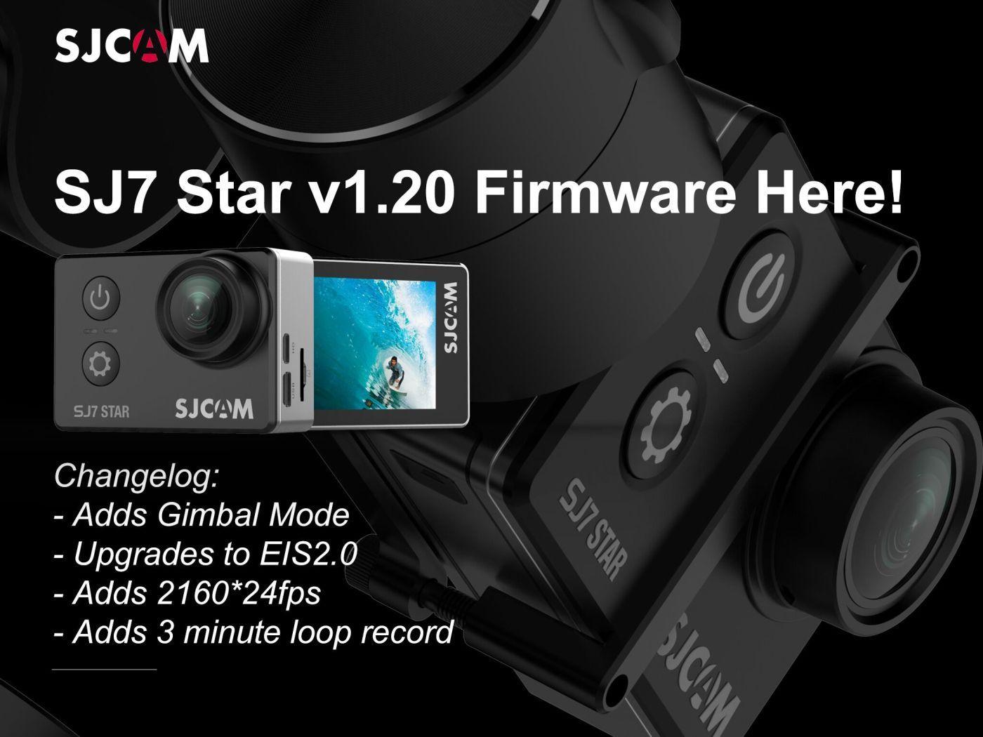 SJ7 Star v1 20 Firmware Upgrade & Changelog – posh gadgets