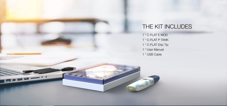 12 C-Flat Executive kit contents