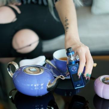 Vaptio Capt'n Kit Blue with Tea set