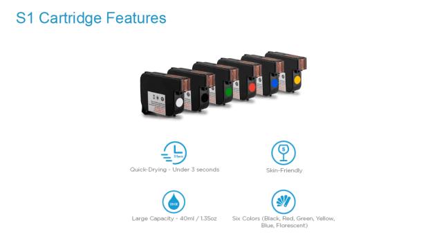 s1+ cartridge features