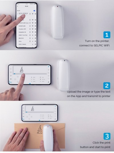 selpic s1+ app instructions