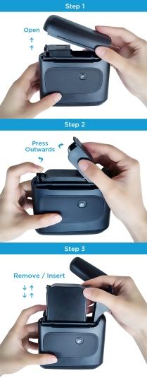 Selpic s1+ handy printer - operation steps