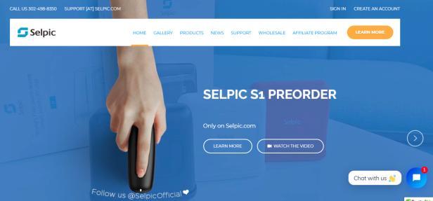 Selpic.com pre-order s1 s1+