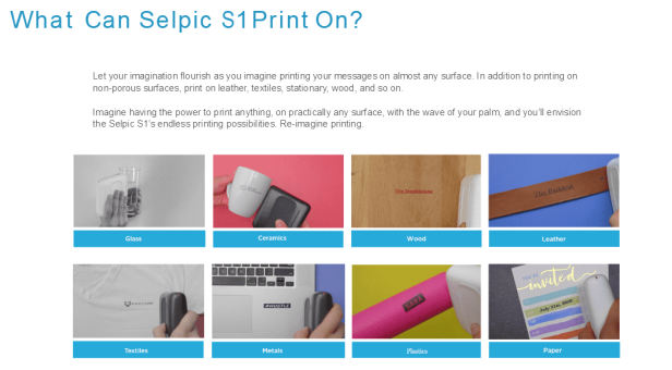 What can S1+ plus print on