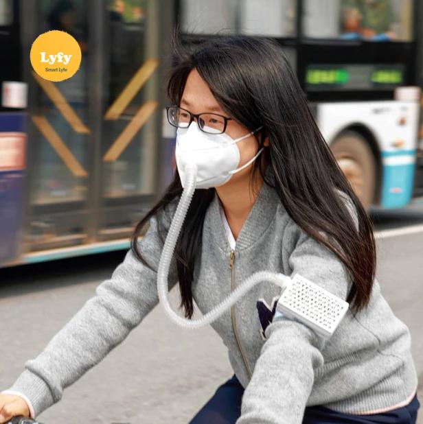 lyfy hepa ventilation respiratory mask