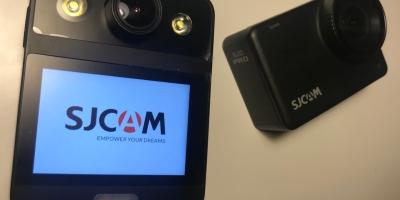 sjcam sj10 pro action camera and SJCAM a20 bodycam reviews