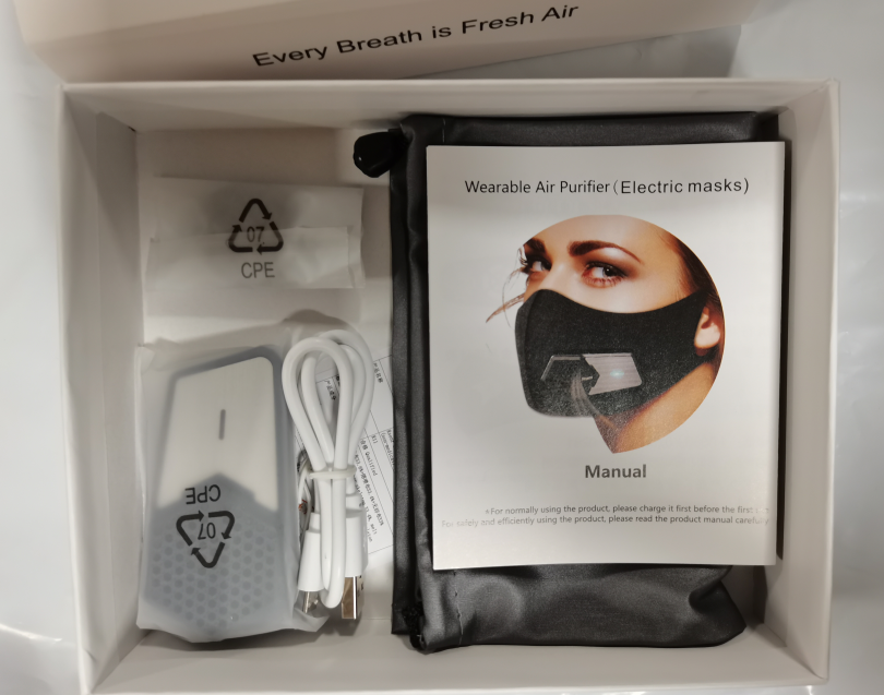 fan-powered mask sportsmask