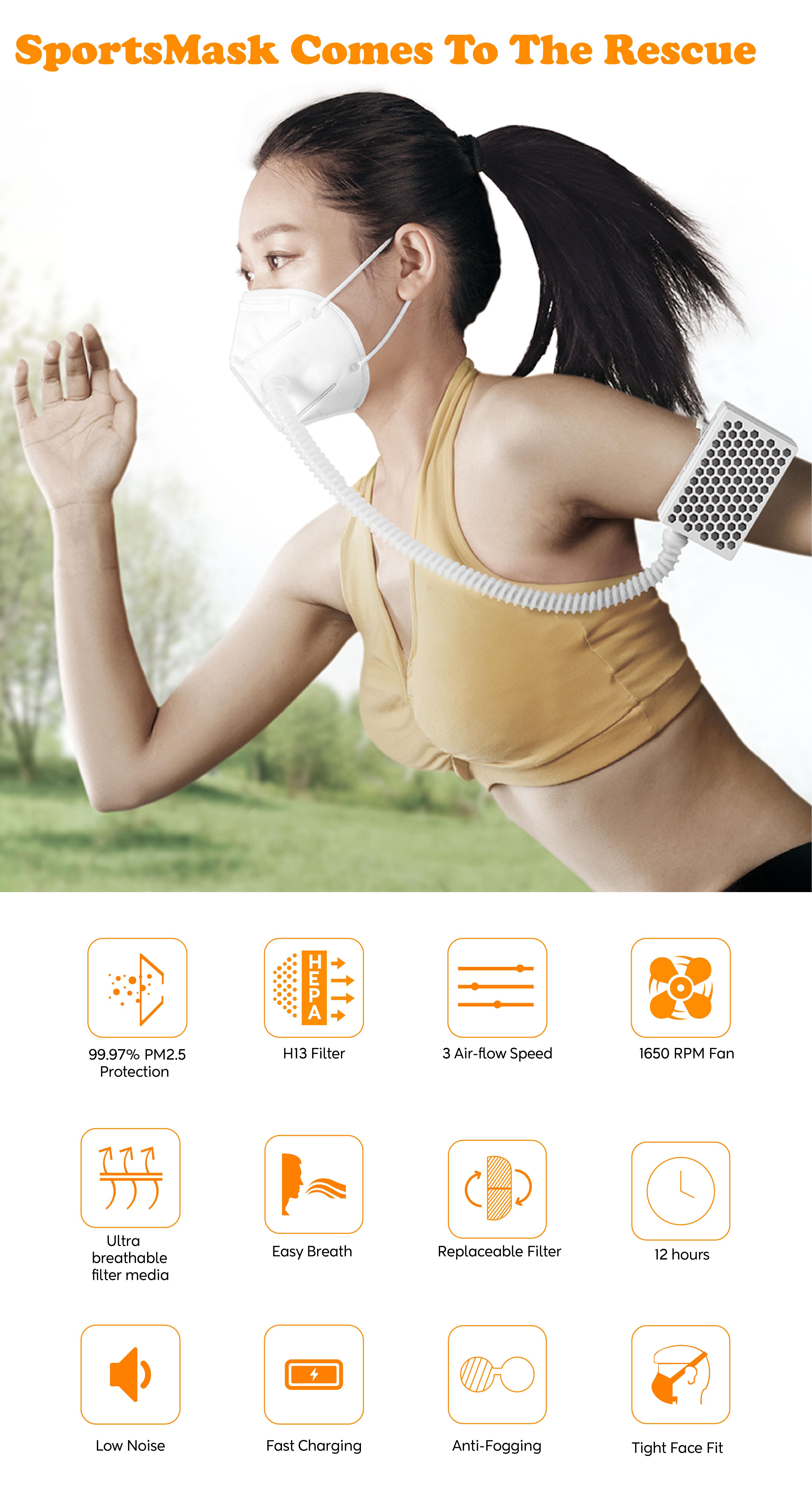 icons design_Sports Mask Icon Set