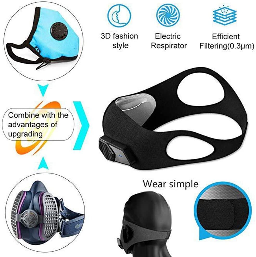 lyfy training mask - fan powered sportsmask