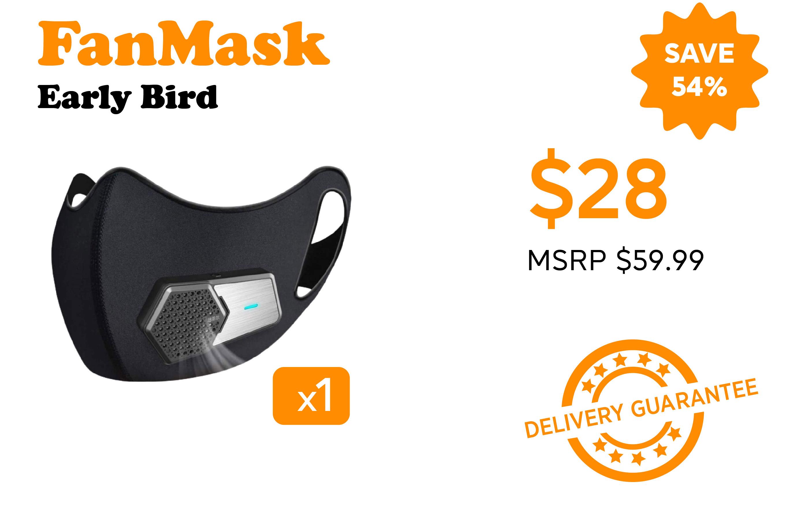 perk button_Fan Mask Early Bird