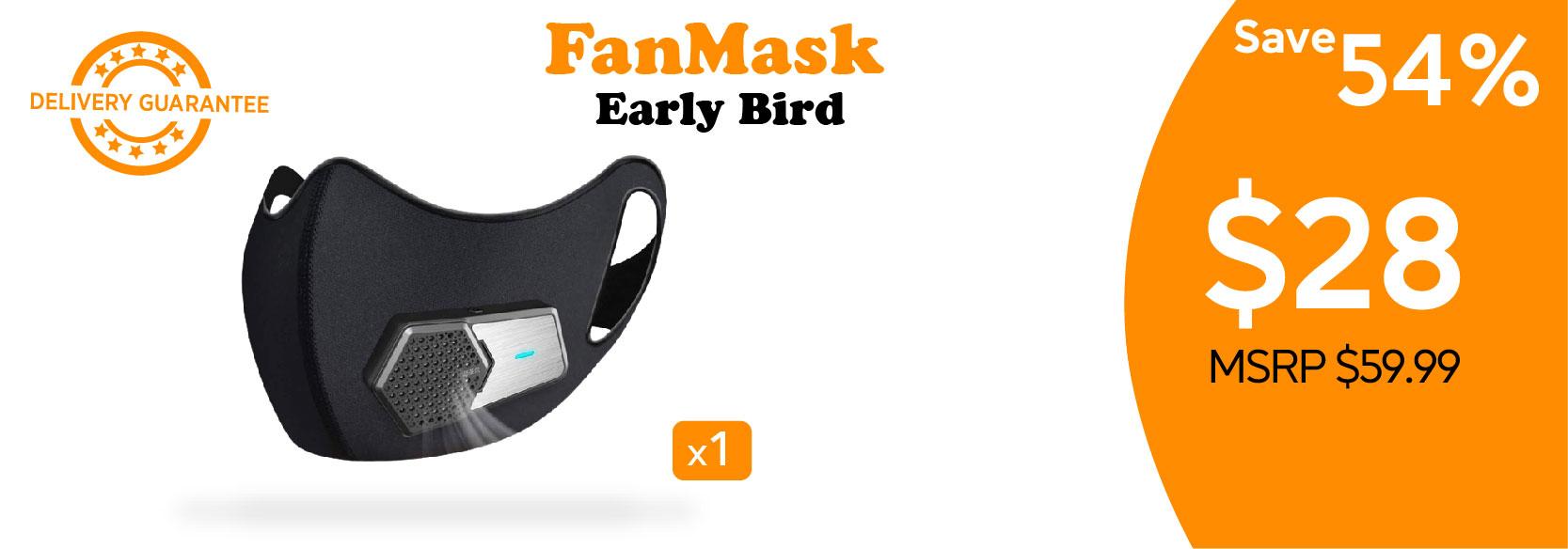 perk posters_Fan Mask Early Bird