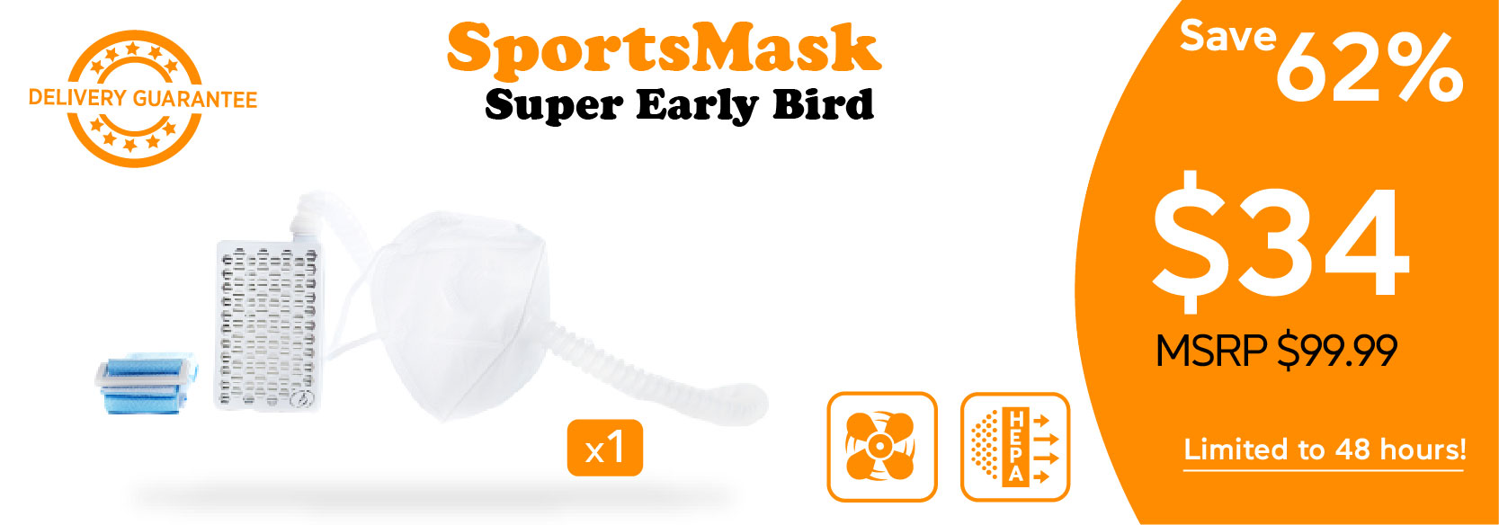 perk posters_Sport Mask Super Early Bird