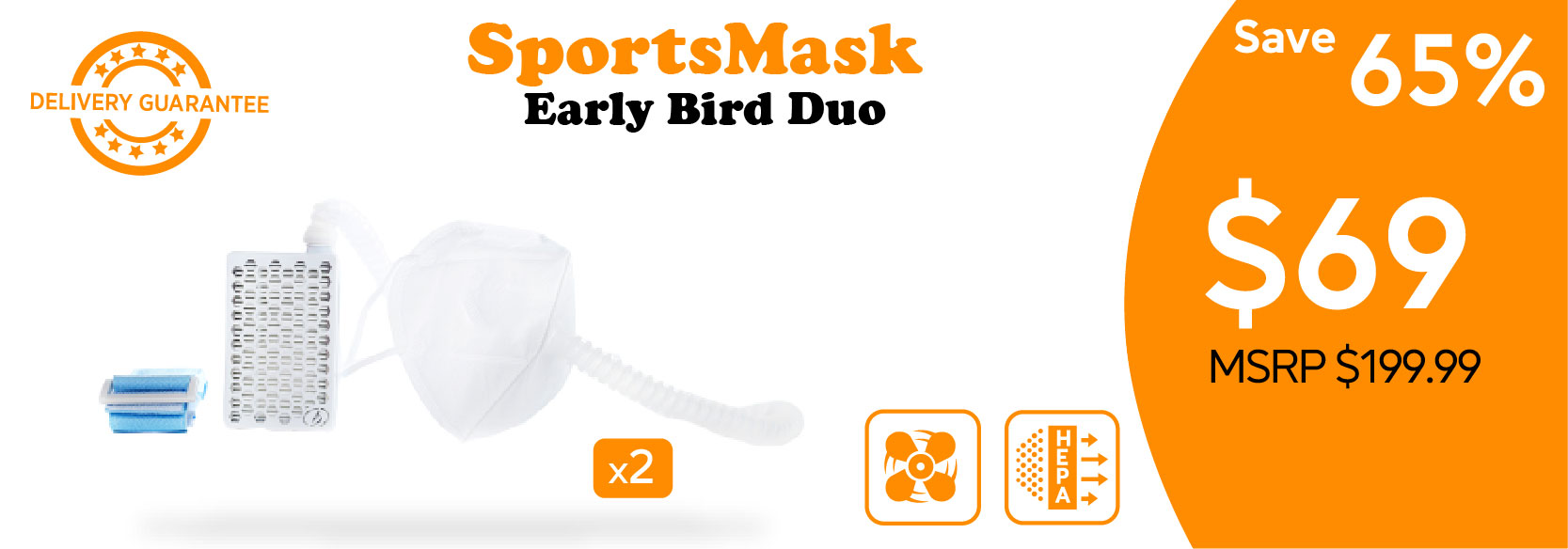 perk posters_Sports Mask Early Bird Duo