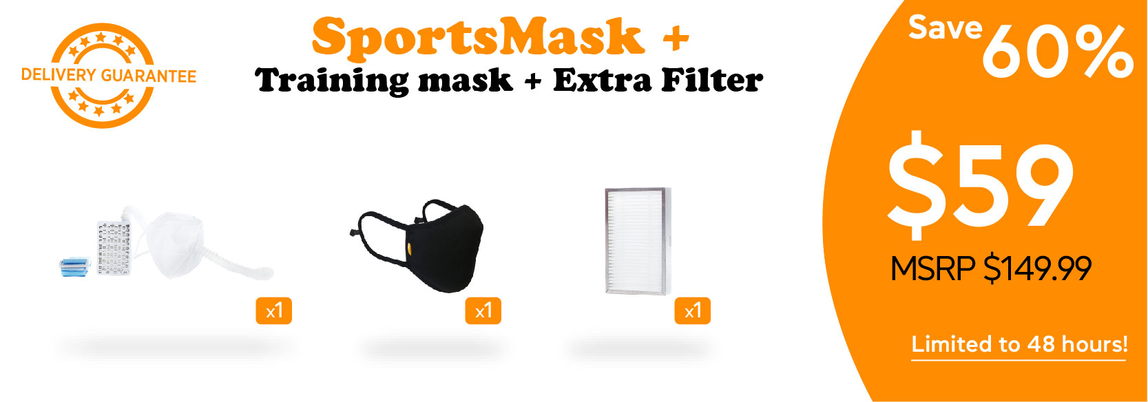 perk posters_Sports Mask+Training Mask+Extra Filters