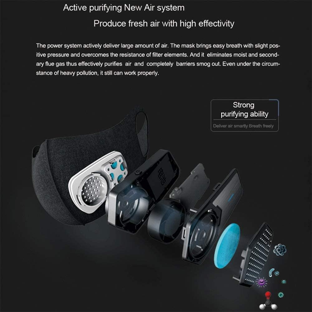 sportsmask hepa filter training mask