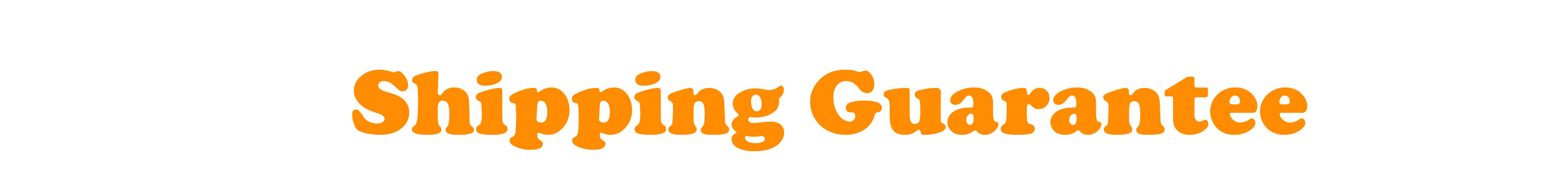 Titles_Shipping Guarantee